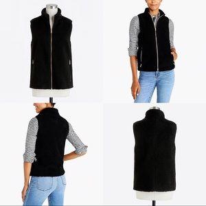 Women's J.Crew Factory Fleece Plush Excursion Vest